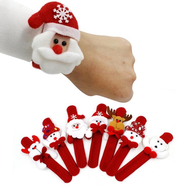 1 PCS Di Natale Decorazioni Di Natale Accarezzando Cerchio Di Natale Per Bambini