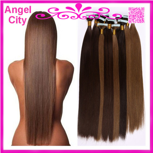 New Arrival 18 Inch 28 Inch Indian Cheap Tape Hair Extensions Skin