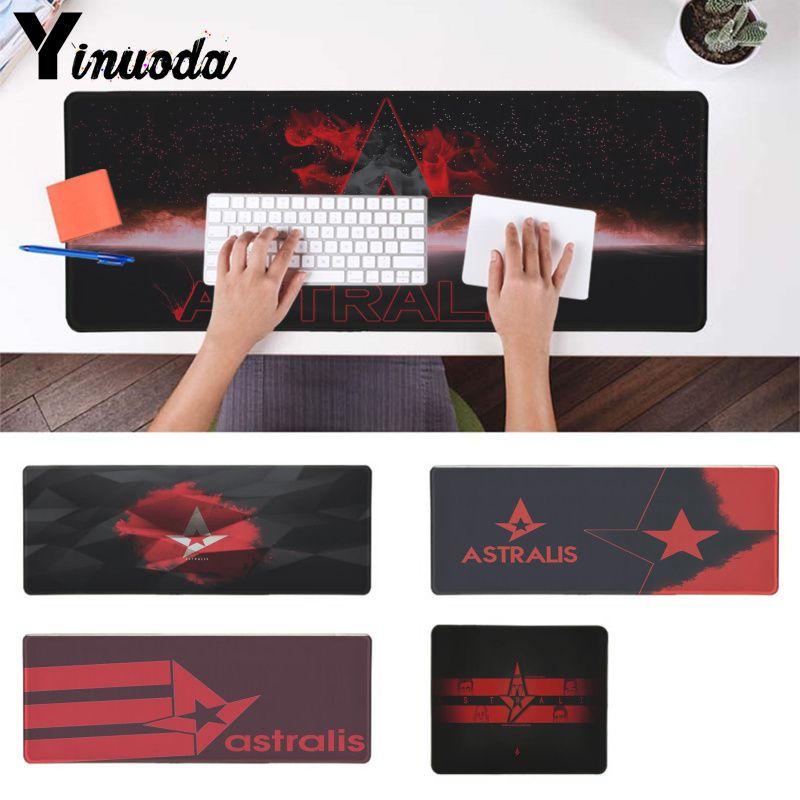 Yinuoda Astralis computer Keyboards Mat Gaming mousepad Desk Mat for cs go notbook