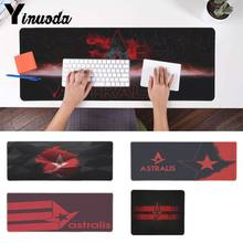 Yinuoda Astralis computer Keyboards Mat Gaming mousepad Desk Mat for cs go notbook mousepad Dominator pad mouse laptop gamer mat(China)