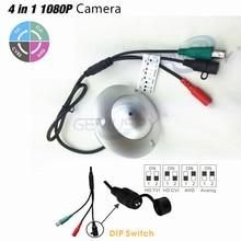 New 1080P 4 IN 1 Solution Sony 323 TVI/CVI/CVBS UFO Flying Saucer CCTV Camera AHD With Waterproof Osd Menu 3.7mm Pin hole Lens