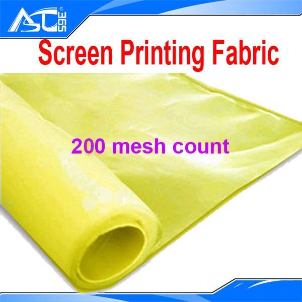 10 Yards 200 Monofilament Screen Printing Stencil Mesh
