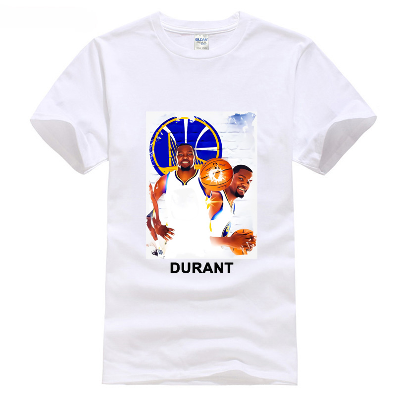 Tops Men Tee Shirts new basketballer man durant palyoffs games mvp 2018 ...