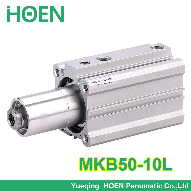 SMC Type MKB50*10L Rotary Clamp Air Pneumatic Cylinder MKB Series MKB50-10L pneumatic air cylinder of mxh6 10 smc type