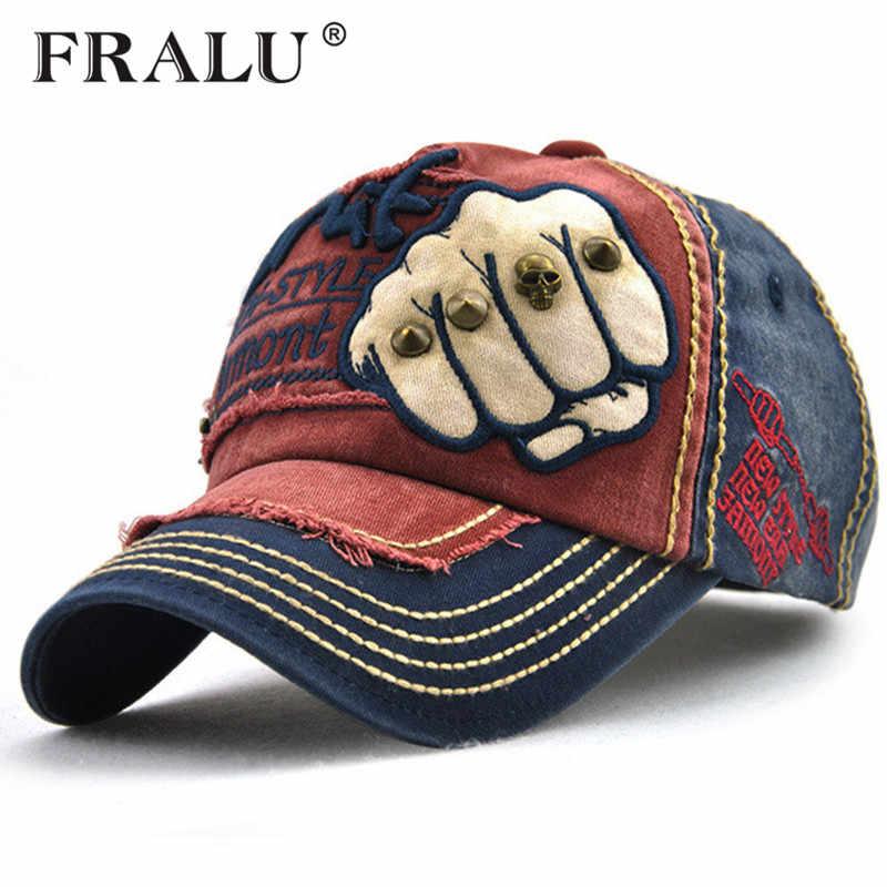 FRALU Новые Унисекс модные мужские Бейсбол Кепки женщин snapback шляпа  хлопковая Повседневное Шапки лето осень шляпа 6ae5dcd489799
