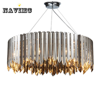 Northern Europe Post Modern Led Pendant Light For Dining Room Restaurant And Pub Art Deco Round