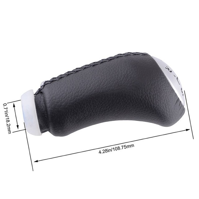 SPEEDWOW 5 Speed Gear Shift Knob Stick Head Car Gear Shift Lever Handle Universal For RENAULT Laguna Megane 2 Clio 3 Scenic 2