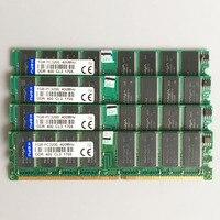 4GB 4x1GB PC3200 DDR 400MHZ 184pins Low Density Desktop Memory 2Rx8 CL3 0 DIMM 4G DDR1