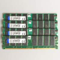 4GB 4x1GB PC3200 DDR 400MHZ 184pins Low Density Desktop Memory 2Rx8 CL3 0 DIMM 4G DDR1
