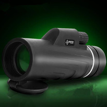 Professional Telescope 10X42 Monocular Power BAK4 Prism Light Night Vision Military Scopes For Hunting