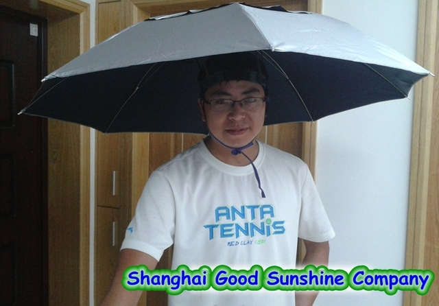 Hot-selling ! fishing umbrella sunscreen headband umbrella hat wearing Large  umbrella cap umbrella f092dc49ae6