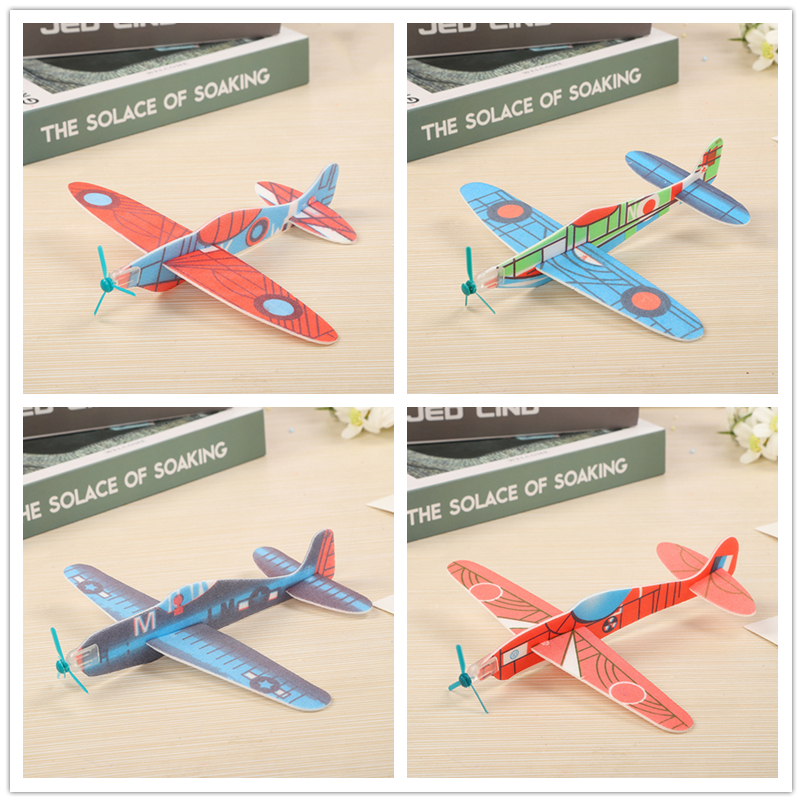 3pcs/set Hand Launch Throwing Glider Aircraft Inertial Foam Airplane Toy Plane Model Outdoor Toy Educational Toys Good quality image