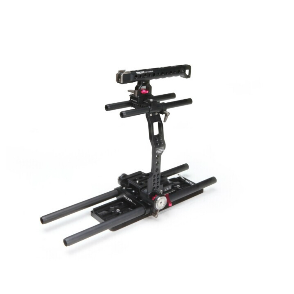 цены Tilta 19mm C300 / C500 rig kit camera support Baseplate Dovetail plate Cage Top handle For Canon C300 C500