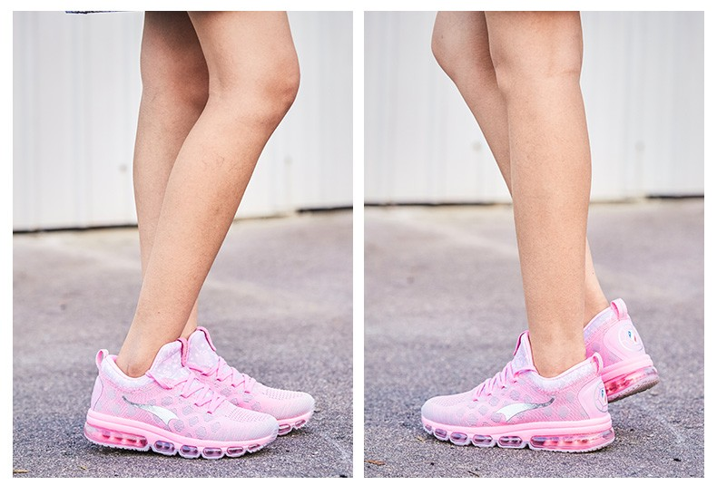 Onemix Running Shoes for men women's Sneakers Elastic Women Jogging Shoes Black Trainers Sport Shoes for outdoor jogging walking 15