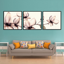 Scandinavian Style Flower Modern Art Nordic Posters And Prints Wall Art Canvas Painting Decorative Picture For Living Room Decor