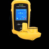 FFW1108 1 Wireless Fish Finder Portable Sonar LCD Fishing Lure Bait Echo Sounder Carp Fishfinder 40m