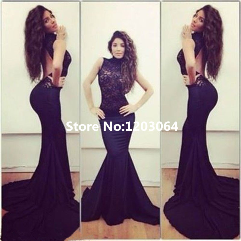 Compare Prices on Backless Black Prom Dresses- Online Shopping/Buy ...