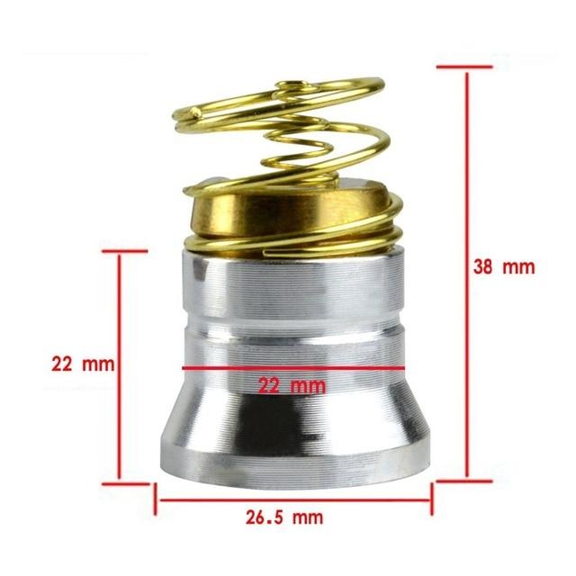 3.7V XM-L T6 1000 Lumen Drop-in LED Flashlight Lamp Bulb For Surefire 6P G2 9P
