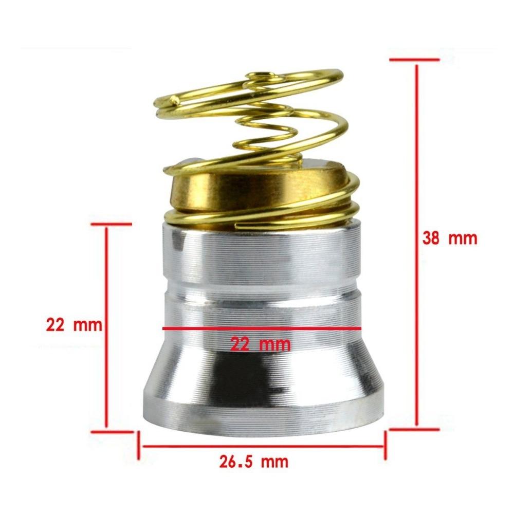 Cree xml-2-t6 led 1/3/5 modus 1000 lumen 3,7 v-8,4 v birne modul für surefire 6 p/g2/c2