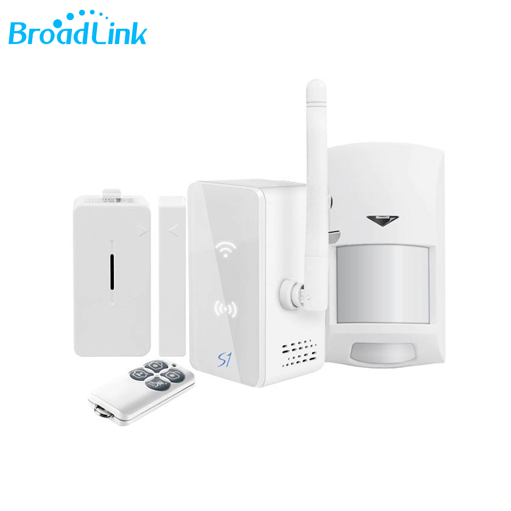 Original Broadlink S1C S1 Kit Smart Hub Alarm System 433MHz Rf Wireless Door Sensor Motion Detector