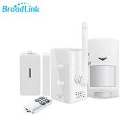 Original Broadlink S1C S1 Kit Smart Hub Alarm System 433MHz Rf Wireless Door Sensor Motion Detector