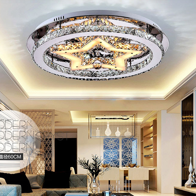 ofing Children room to absorb dome light contracted and contemporary led pentagram male girl bedroom room crystal light
