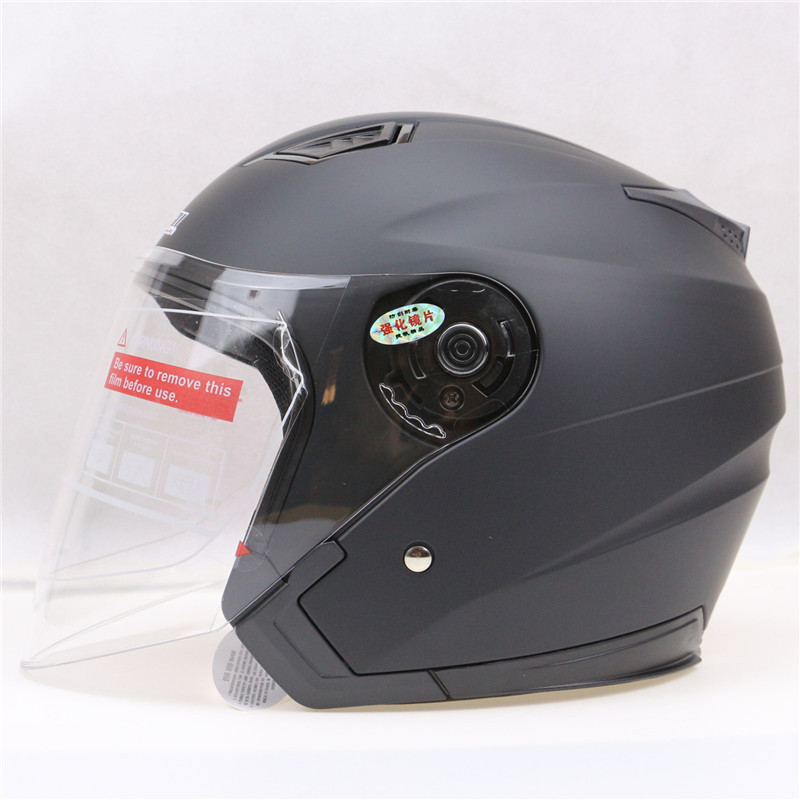 Best light weight safety motorcycle helmet jiekai open for Best helmet for motor scooter