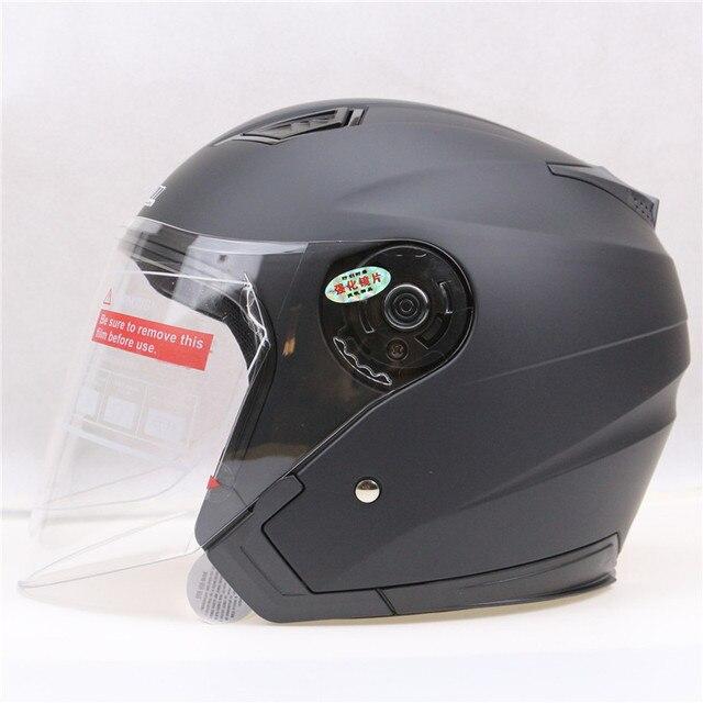 Poids Léger De Sécurité Moto Casque Jiekai Open Face Casque 6