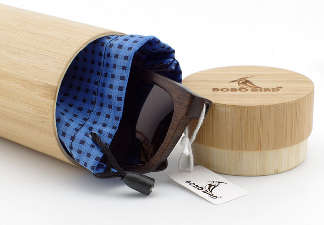 Men's Wooden Polarized Sun Glasses Retro