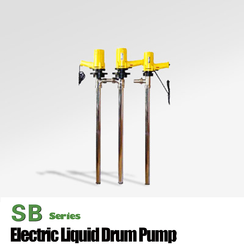 SB-2-1 110L/Min AC electric barrel pump chemical drum pump oil rotary drum pump