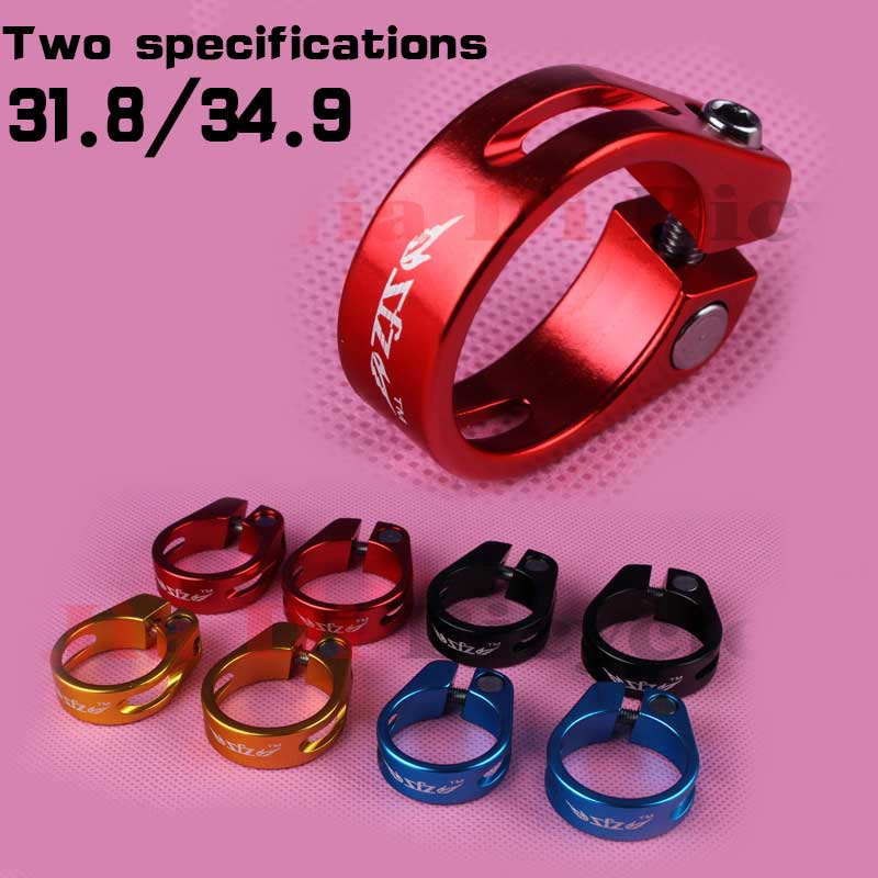 ZFZ Bicycle Seat Post Tube Clip 31.8 / 34.9 Bike Seat Tube Camp 27.2 / 30.4 / 30.8 31.6 Seat Clamp Quick Release Accessories