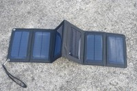 Solarparts 5 5V 12W Portable Foldable Solar Charger System For Outdoor Charging Camp Waterproof Solar Rechargeable