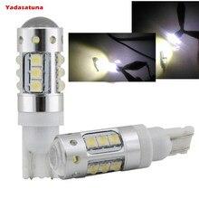 2*blanco 80W T10 194 161 W5W 16 * CREE XBD Chips LED Coche Luz Lateral cuna Bombilla marca nueva iluminacion LED