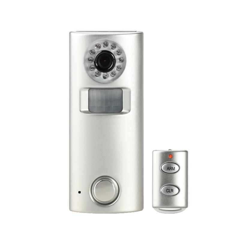 Caméra d'alarme GSM SMS à énergie solaire avec Vision nocturne IR détection de mouvement PIR pour enregistrement vidéo armé/désarmé par télécommande