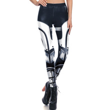 1665 Fitness Elastic Women Leggings Sexy Girl Polyester Slim Fit Workout Pants Trousers Star Wars Mecha Darth Vader Printed
