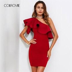 Платье на одно плечо с воланом  Цена: 902 руб. (13.86$) | 120 заказа(ов)  Купить:     ???? В этом платье трудно остаться незамеченной. Очень красивое и женственное. Отлично подчеркивает фигуру, а воланы добавляют романтики. Я когда заказывала это платье не