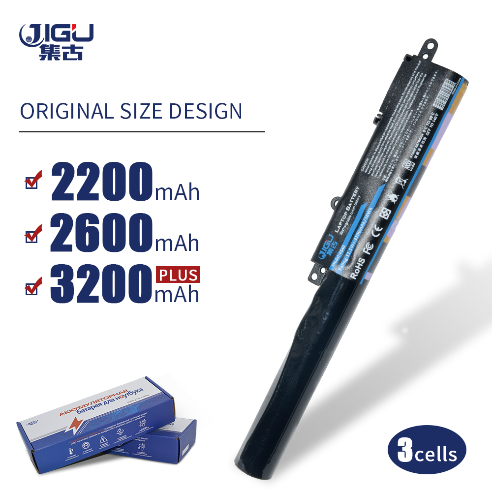 JIGU Laptop Battery A31N1519 For ASUS F540SC X540LJ F540UP7200 X540S R540L X540SA R540LA X540SC R540LJ 3CELLS