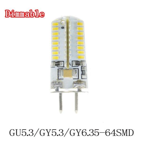 5x Lampada gu5.3/GY5.3/GY6.35 LED spot licht lampe 220 V 7 Watt Led-strahler...