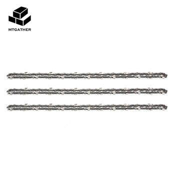 MTGATHER 3 xChainsaw Semi Pahat Chains 3/8LP 050 52DL Untuk 236E 14 Inch Bar Rantai-Gergaji Untuk Cut