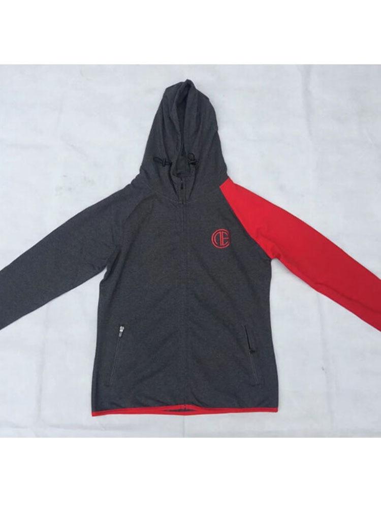 2017Men sweatshirt hoodie Hip Hop Mens fesyen Brand Leisure Zipper - Pakaian lelaki - Foto 5