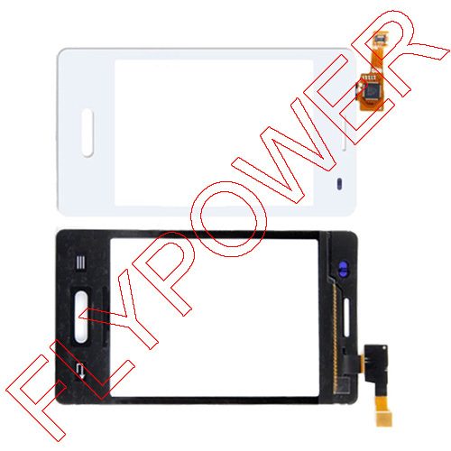 For LG Optimus L3 II E430 White touch screen digitizer touch panel by Free Shipping:100% warranty