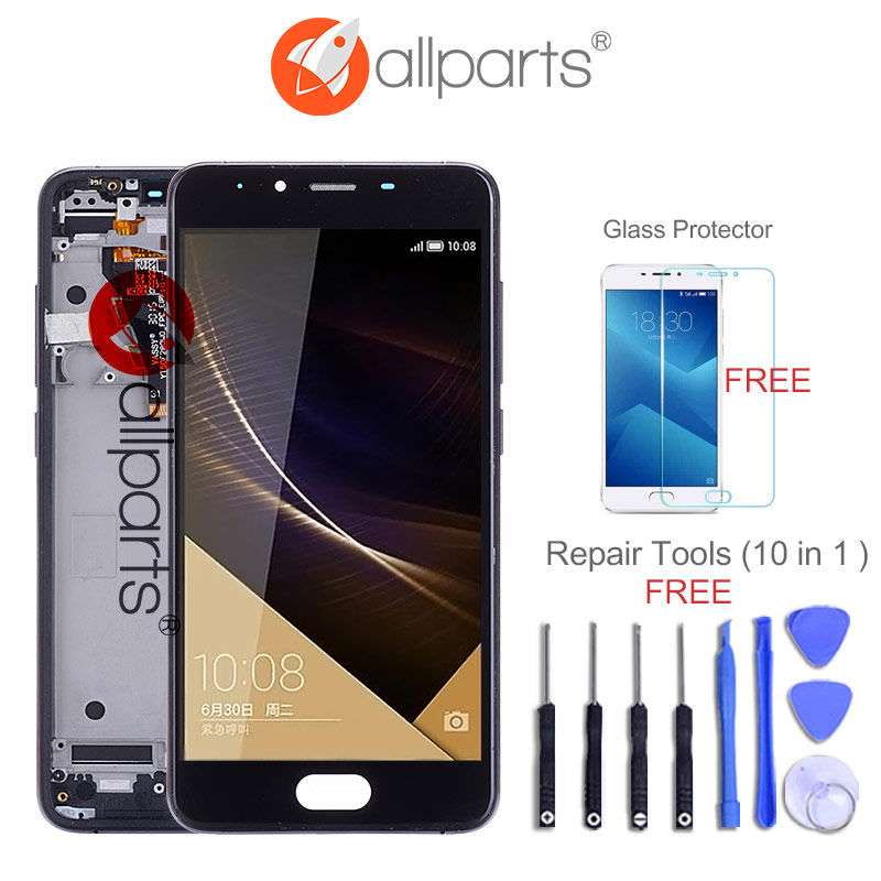 Tested ALLPARTS 1280x720 5.0 Display For MEIZU U10 LCD Touch Screen Digitizer Replacement For Meizu U10 LCD