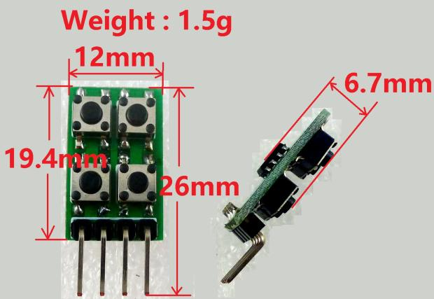 10kHz Frequency Duty Ratio Adjustable Square Wave Signal Generator Module Pulse Function Board Instead Of NE555