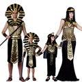 Trajes para purim fiesta de halloween ropa de adultos egipcio faraón egipcio faraón rey hombres fancy dress