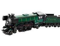 1109 pcs Technic Series Emerald Night Train Model Construction Kits Bricks Blocks Children Toys