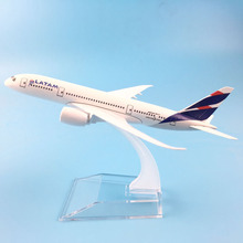 FREE SHIPPING 16CM LATAM METAL ALLOY MODEL PLANE AIRCRAFT MODEL  TOY AIRPLANE BIRTHDAY GIFT