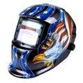 FSLH-Solar Escurecimento Automático Capacete de Soldagem Mig Tig Arc Moagem máscara de solda