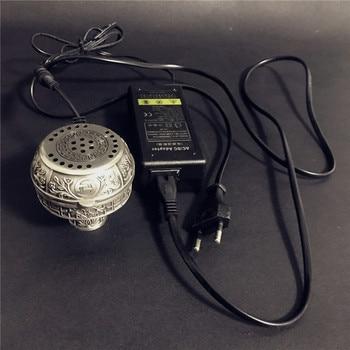 High-grade Large Size Multifunctional Metal E-Shisha Smokepan Electronic Tobacco Bowl &Ceramic Charcoal For Hookah/Sheesha 2