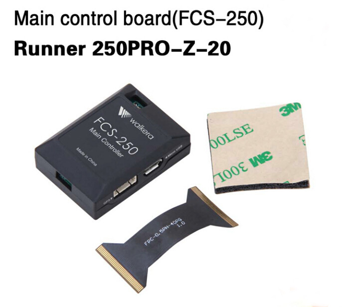 Walkera Runner Main Control Board FCS-250 250PRO-Z-20 for Walkera Runner 250 PRO GPS Racer Drone RC Quadcopter F19878 extra right main board for walkera furious 320 320g multicopter