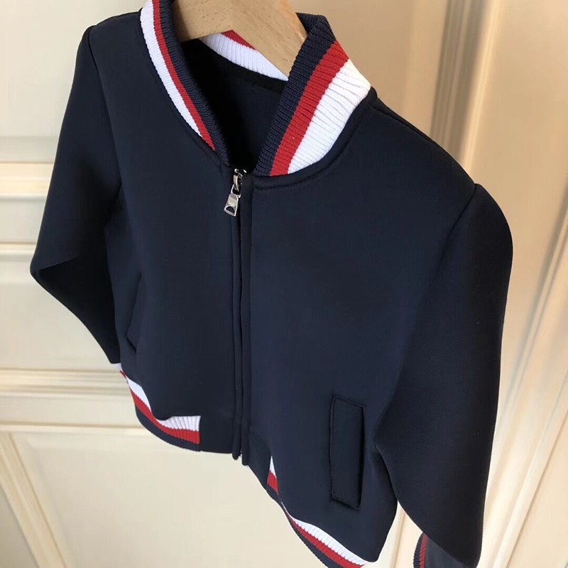 Baby Boy Clothes Boys Jacket Spring Solid Boys Outwear For Children Kids Coats For Girls in late August 2 14t baby boy clothes boys jacket leather spring letter boys outwear for children kids coats for boys baseball sweatershirt
